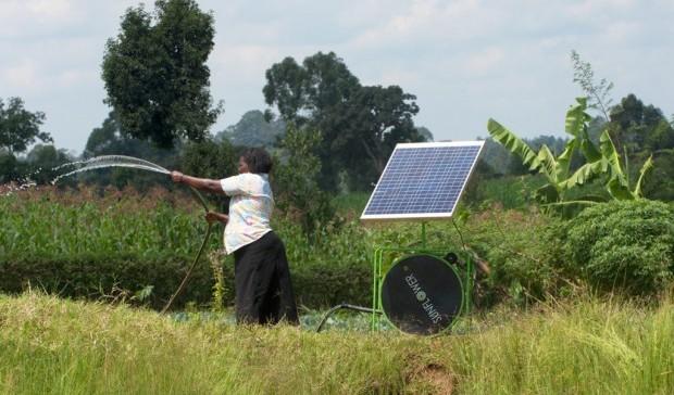 Energia solare per l'agricoltura