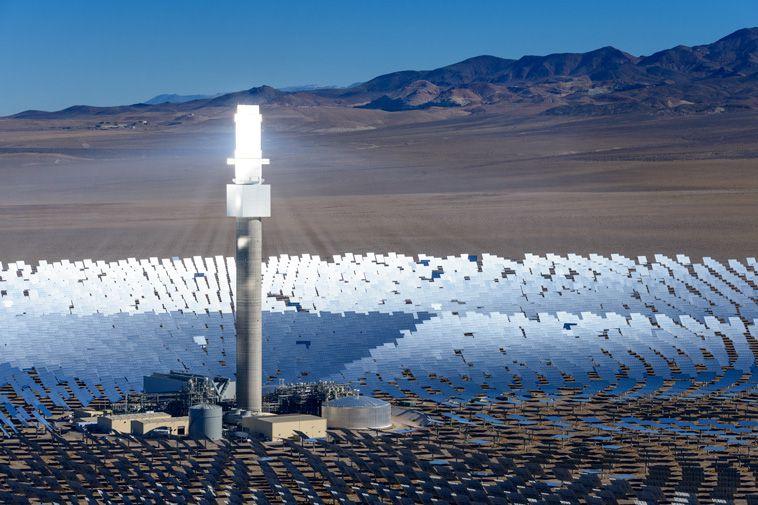 SolareReserve: l'impianto ad energia no stop