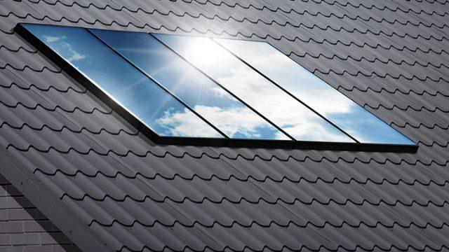Viessmann Vitosol: esempio di pannello solare termico